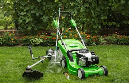 alquiler de maquinaria para jardinería